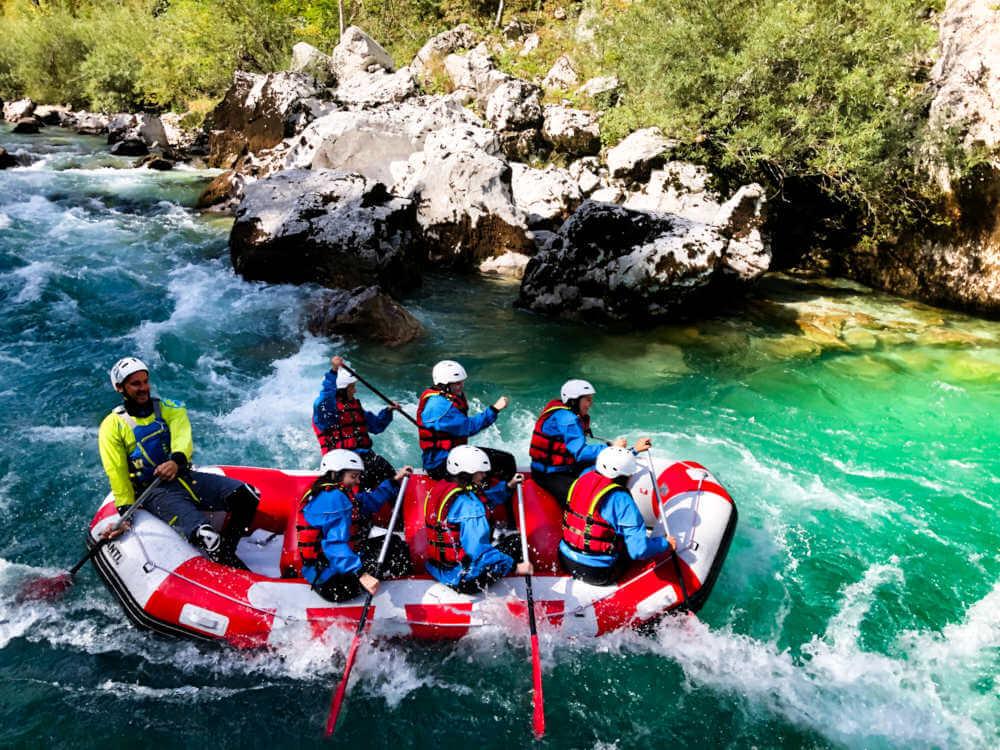 Rafting Soca River - Bovec Slovenia